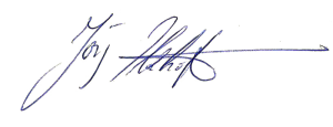 Signatur Ilzhöfrer